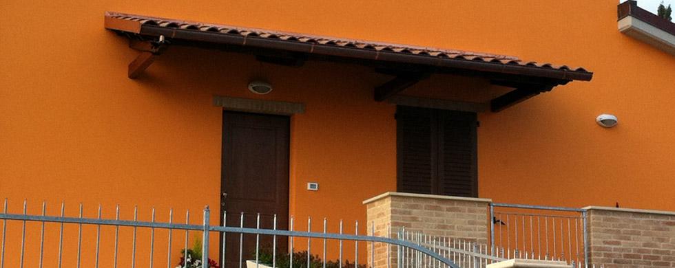 Tettoia tettoie a sbalzo euroistal - Tettoie per finestre ...